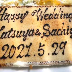 【happy wedding 】0529結婚式