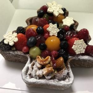 【梅田】「~タルトプレミエ~クリスマスツリーのタルト」 を予約購入しました。クリスマスケーキ2019(キルフェボン グランフロント大阪店)