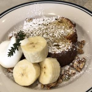 【谷町四丁目】大阪城公園の近くのお洒落なカフェで♪「オーガニックバナナパウンドケーキ」(アサカラグッドストア)