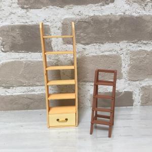 学校の図書館を拡張しよう④~本棚と踏み台(シルバニア村)