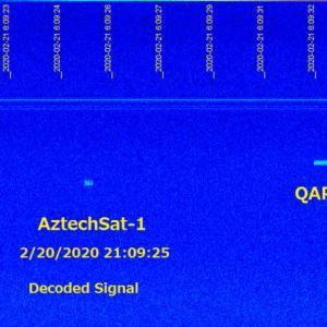 AztechSat-1 デコード/Satellite