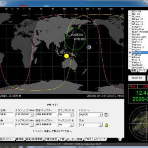 AISAT-1 Sバンド/Satellite