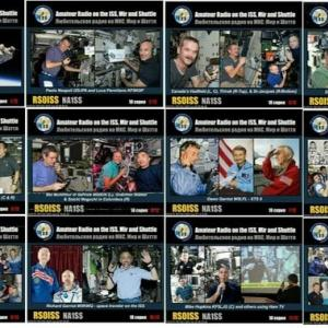 ARISS SSTV ALL Image/Satellite