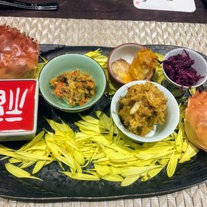 上海蟹!中国名菜酒家つる見 (神楽坂)最高品質の上海蟹を年代物の紹興酒と!