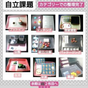 【自立課題】カテゴリー・材料・道具と作り方・アイデア