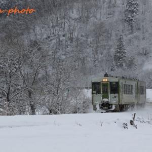 雪を求めて北上線②