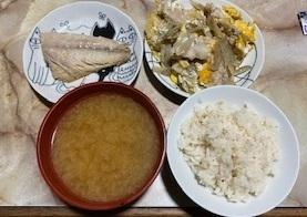 焼き魚とお肉