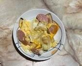 ウインナー入り卵とじ