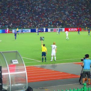 サッカー日本代表 in カンボジア。
