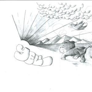 CD『Yell ~あなたの命が輝きますように』イラスト製作秘話その1・・・1345記事目
