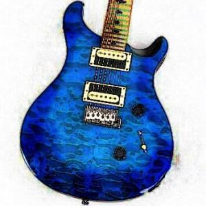 行きつけの楽器店にPRSの中古ギターが入荷した
