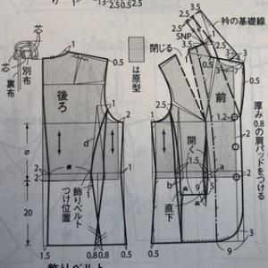 これも日本初!動く女性の補正済み原型、パタ-ンメイキング補正方をオンラインで。生徒さんの方がオンライン設備は完璧