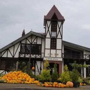 ハロウィンかぼちゃ豊作♪・ニセコ駅♪