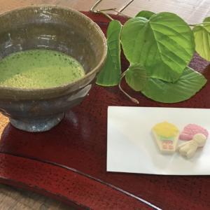 7月31日(土)(略点前の)お茶会開催
