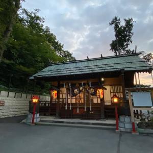 伊香保神社までは365段。