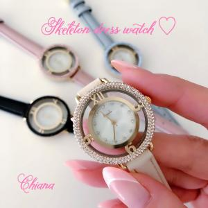 Skeleton dress watch ★ 限定販売
