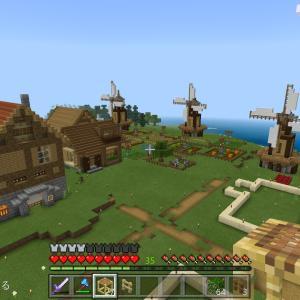 【Minecraft/switch】小さな家を建てる