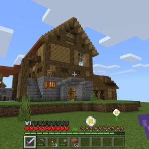 【Minecraft/PS4】今まで作った拠点/小さな建築物まとめ