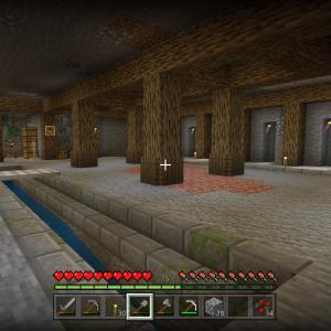【Minecraft】ブランチマイニング場