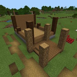 【Minecrft】ポーション制作小屋を作る