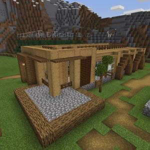 【Minecraft】昆布自動収穫機 建屋を作る