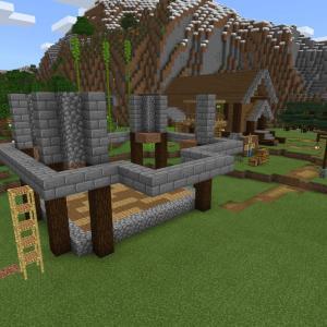 【Minecraft】エンチャントをする家を建てる