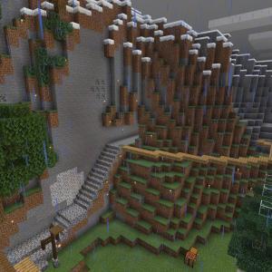 【Minecraft】倉庫をつくる
