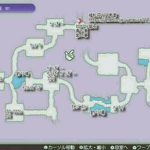 【RF5】メリネ氷洞モンスターマップ【ルーンファクトリー5】