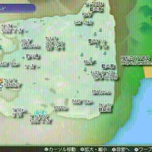 【RF5】メリネ氷洞前近辺モンスター分布マップ【ルーンファクトリー5】
