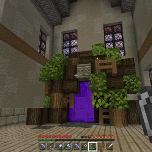 【マインクラフト1.17】村を解体してネザーゲートを作る【統合版】