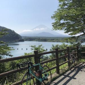 暑いときは避暑ですよ避暑!親子で富士四湖ポタなのだ。