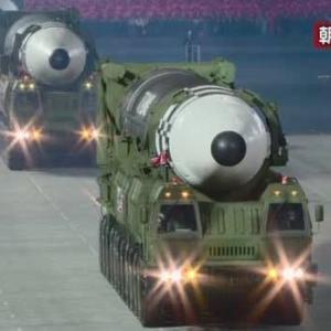 韓国軍 北朝鮮の新型ミサイル公開に懸念 米軍と分析進める・・日本の敵、韓国なのに?、韓国なのに?