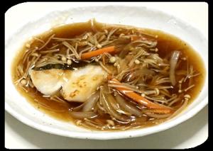 重宝する秘伝豆。タラの野菜うまみあんかけ(E・レシピ)、たらこバターチャーハン(Nadia)、明太子と卵の丼(クックパッド)。
