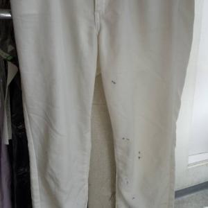 婦人パンツについた泥汚れ