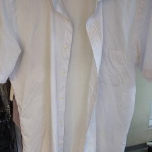カッターシャツの衿汚れ