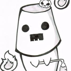 【冒険者兎を支える優しき幽霊】真5回 : TEAMジウヨリのオリキャラ!その5『プネヴ』