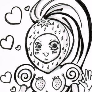 【苺髪の女性魔物は強い】真8回 : TEAMジウヨリのオリキャラ!その8『モランゴ』