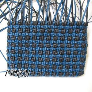 ショルダーバッグの本体が編めました