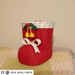 @rena_sena_mama 様が説明書を購入してくださっていてクリスマスブーツが完成し...
