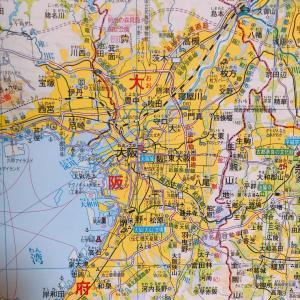 今日は地図の日!地図が好き!