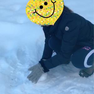 雪だるま作ろう〜♪ 〜2020年1月 家族旅行〜