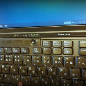 Thinkpad X201をwindows10へその2