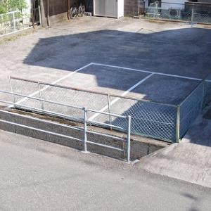 駐車場案内板をポリプレートで手作り