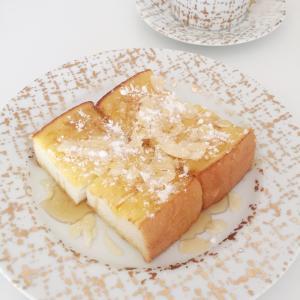 ポーセラーツでお手軽フレンチトースト