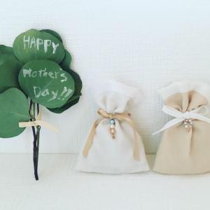 母の日のプレゼント♡20個限定商品:ユーカリ染めのサシェ