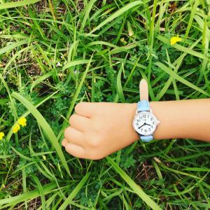 【5歳アナイスに腕時計買ってあげました】
