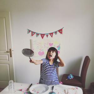 アナイス6歳*自分で創る誕生日パーティープロジェクト