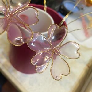 桜と桔梗?増やして(^O^)