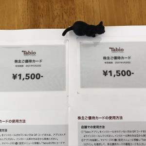 (2668タビオ)株主優待到着と昨日(2020/5/25)のYUPIX