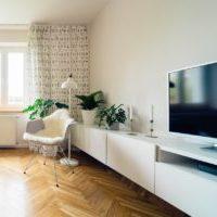 北欧シンプル アッシュ素材のナチュラルモダンなテレビボード